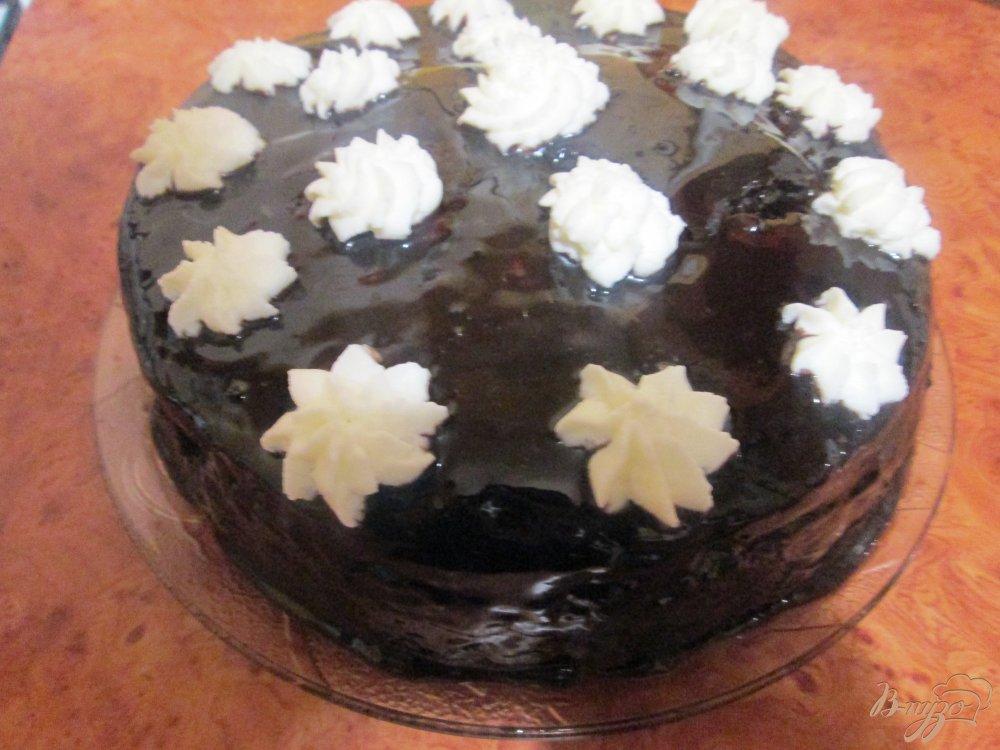 Фото приготовление рецепта: Шифоновый бисквит с вишней шаг №12