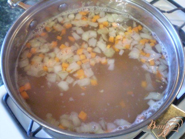 Фото приготовление рецепта: Детский суп с гречкой шаг №5