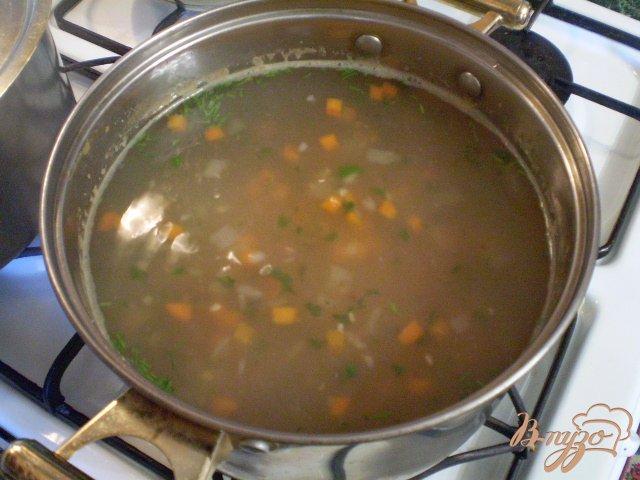 Фото приготовление рецепта: Детский суп с гречкой шаг №6
