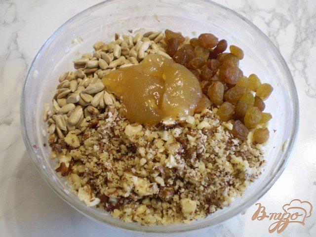 Фото приготовление рецепта: Полезное печенье для детей шаг №4
