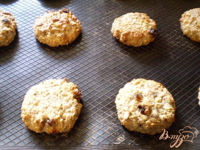 Фото приготовление рецепта: Полезное печенье для детей шаг №7