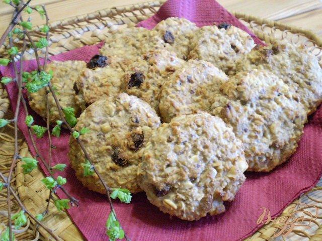 Фото приготовление рецепта: Полезное печенье для детей шаг №8