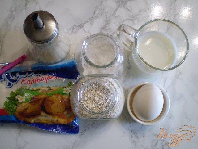 Фото приготовление рецепта: Блинчики на овсянке шаг №1
