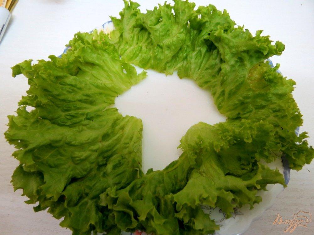 Фото приготовление рецепта: Закуска из яиц, салями и зелёного соуса шаг №7