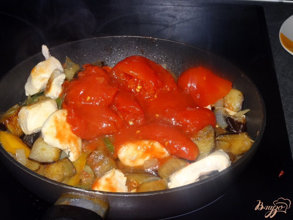 Фото приготовление рецепта: Буглама с куриным мясом шаг №9