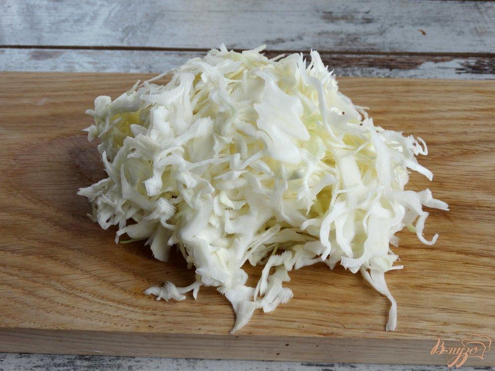 Фото приготовление рецепта: Салат Козел в огороде шаг №1