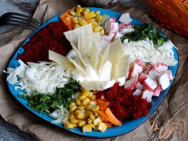 фото рецепта: Салат Козел в огороде