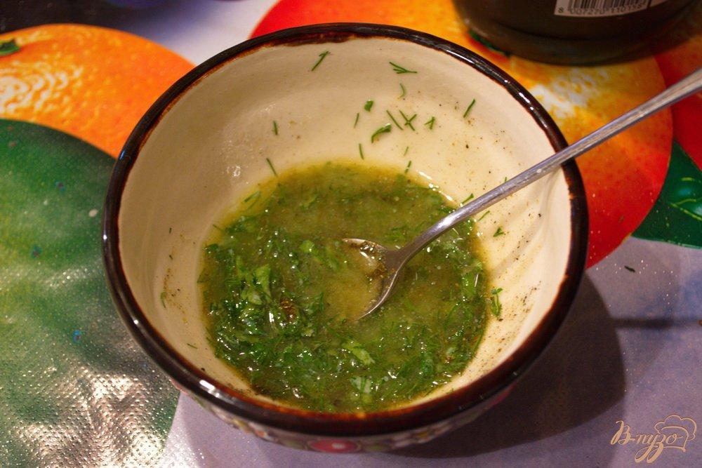 Фото приготовление рецепта: Картошка с двойным маслом шаг №5