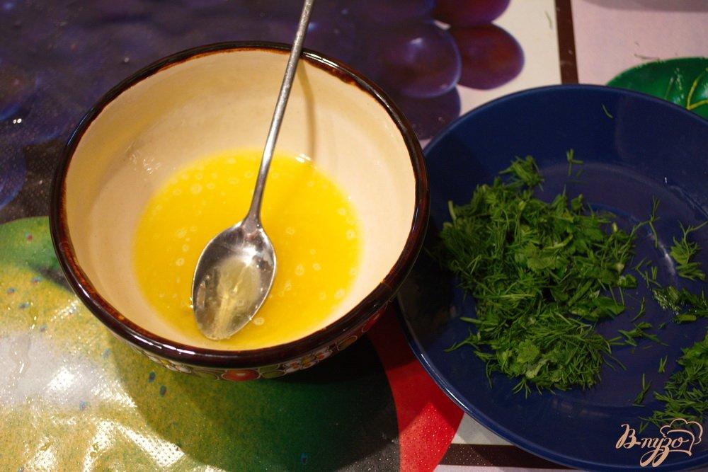Фото приготовление рецепта: Картошка с двойным маслом шаг №4