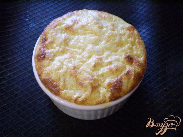 Фото приготовление рецепта: Яблочно-творожное суфле шаг №10
