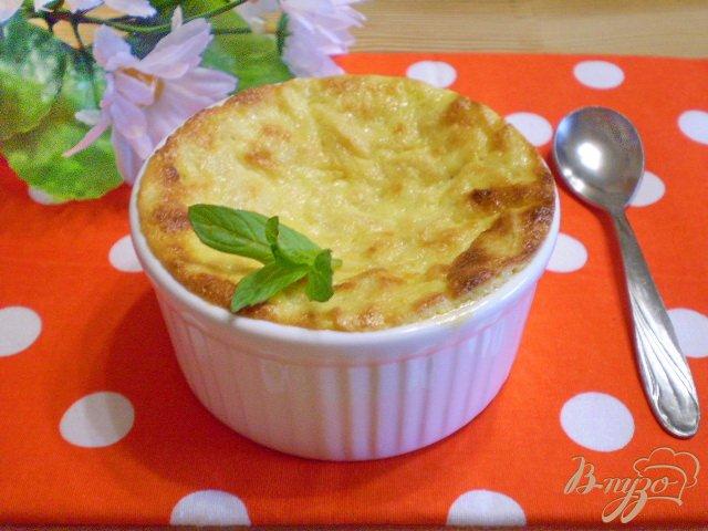 Фото приготовление рецепта: Яблочно-творожное суфле шаг №11