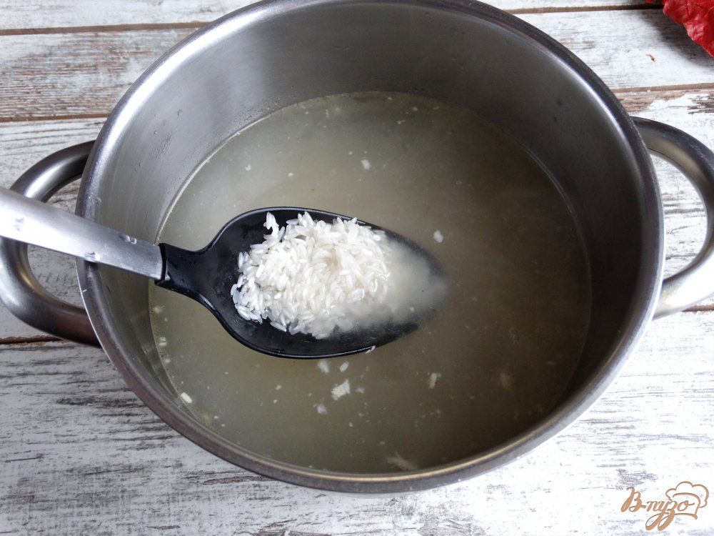 Фото приготовление рецепта: Бринчоба шаг №3