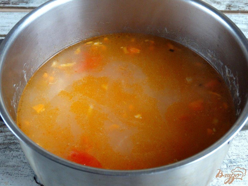 Фото приготовление рецепта: Бринчоба шаг №5