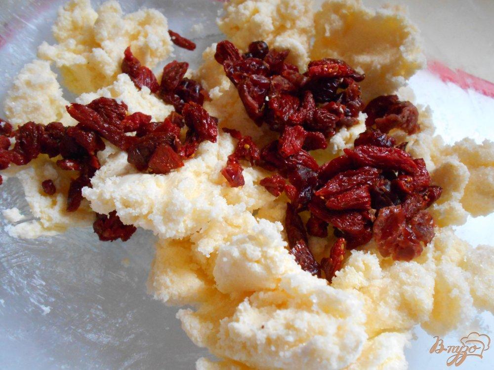 Овсяное печенье с ягодами годжи