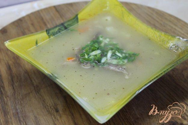 фото рецепта: Суп с нутом и фасолью с курицей