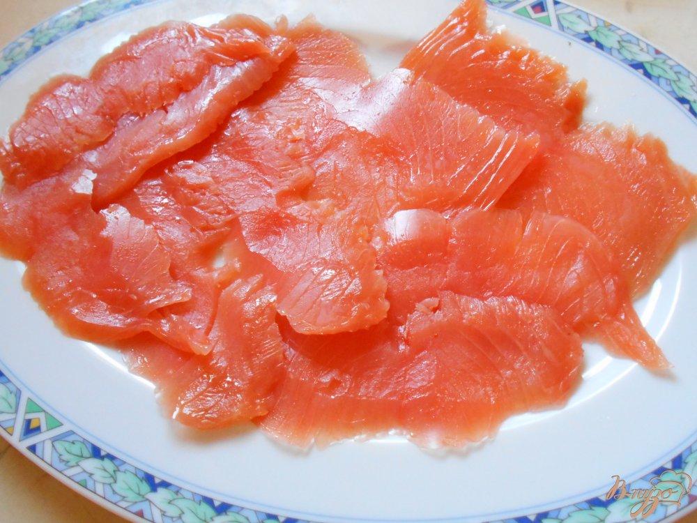 Фото приготовление рецепта: Карпаччо из лосося шаг №1