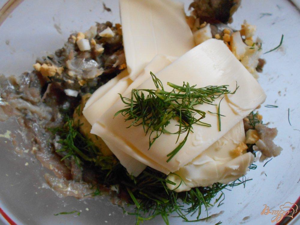 Фото приготовление рецепта: Килечное масло шаг №5