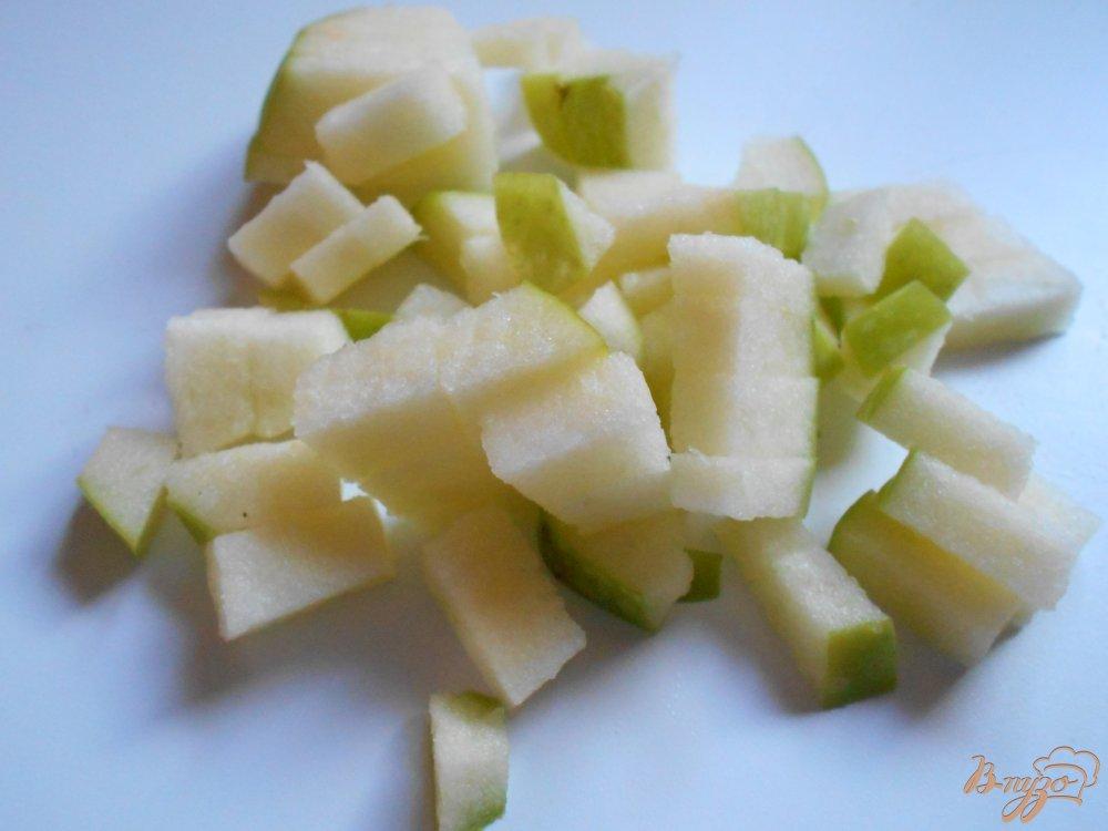 Фото приготовление рецепта: Русский салат с килькой шаг №6