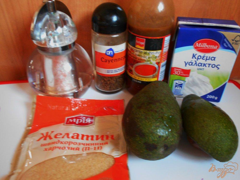 Фото приготовление рецепта: Мусс из авокадо шаг №1