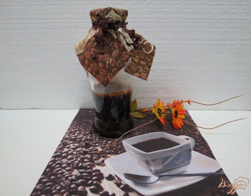 Фото приготовление рецепта: Кофейный экстракт шаг №5