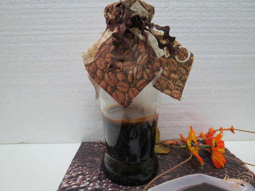 Фото приготовление рецепта: Кофейный экстракт шаг №4