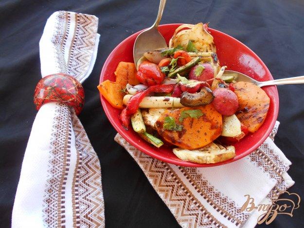 фото рецепта: Гарнир из овощей-гриль