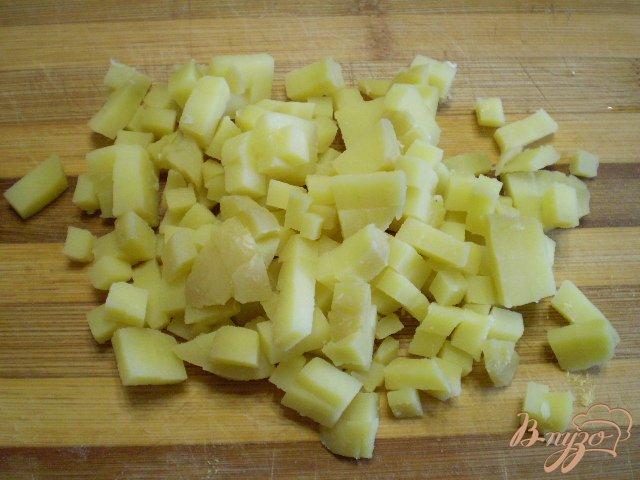 Фото приготовление рецепта: Овощной зимний салат шаг №2