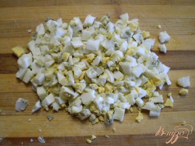 Фото приготовление рецепта: Овощной зимний салат шаг №3