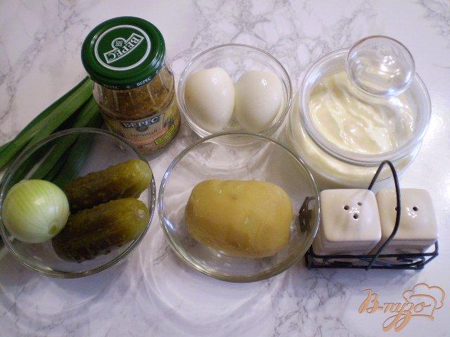 Фото приготовление рецепта: Овощной зимний салат шаг №1
