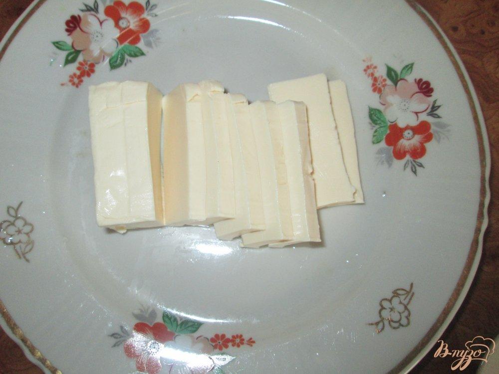 Фото приготовление рецепта: Сырный суп с курицей шаг №5