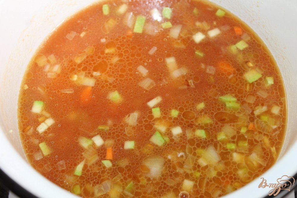 Солянка с томатным соком