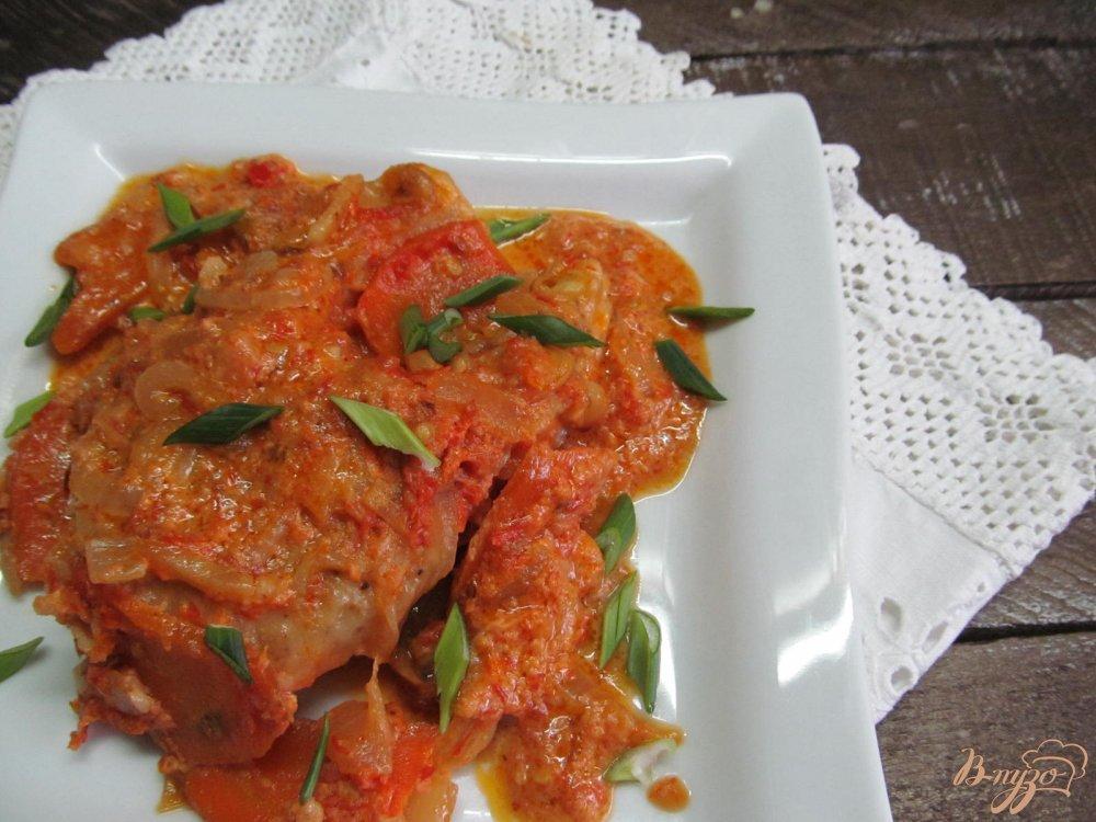 Фото приготовление рецепта: Щука в сметанном соусе шаг №10