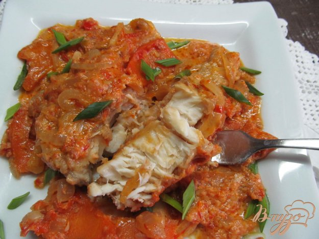 фото рецепта: Щука в сметанном соусе