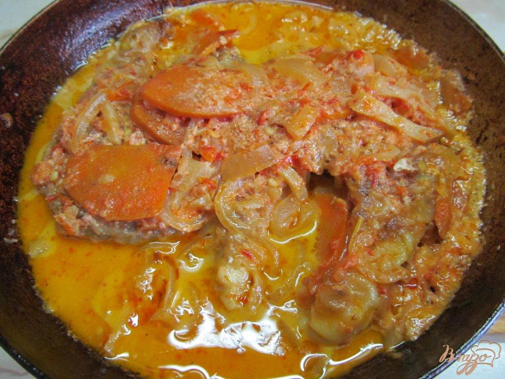 Фото приготовление рецепта: Щука в сметанном соусе шаг №9
