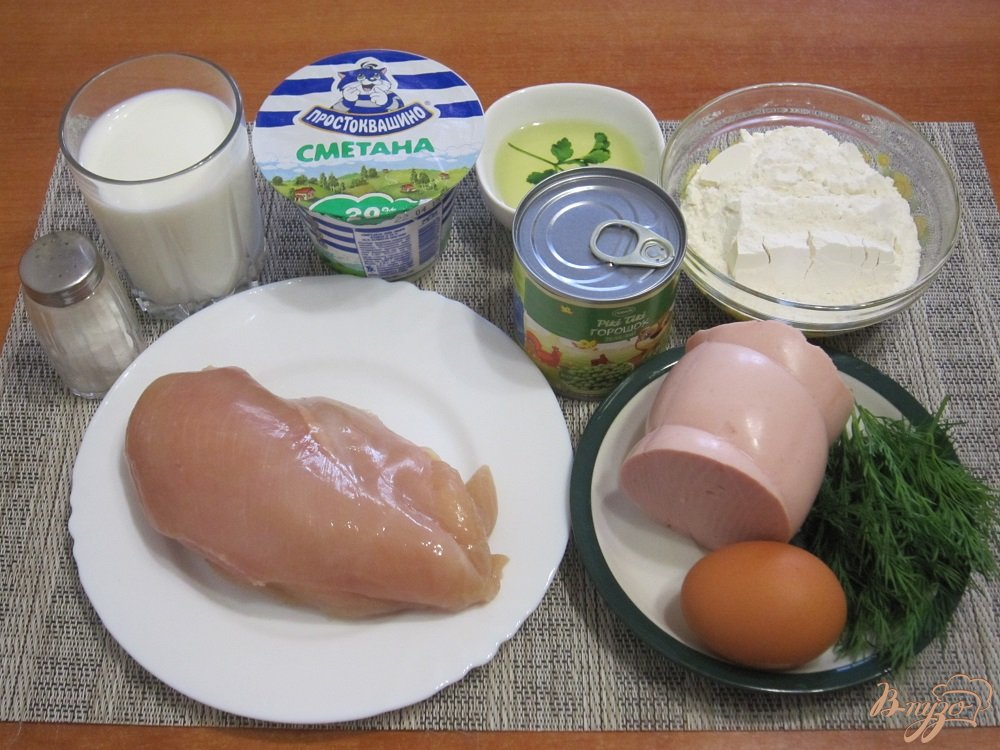 Фото приготовление рецепта: Мешочки из блинов шаг №1