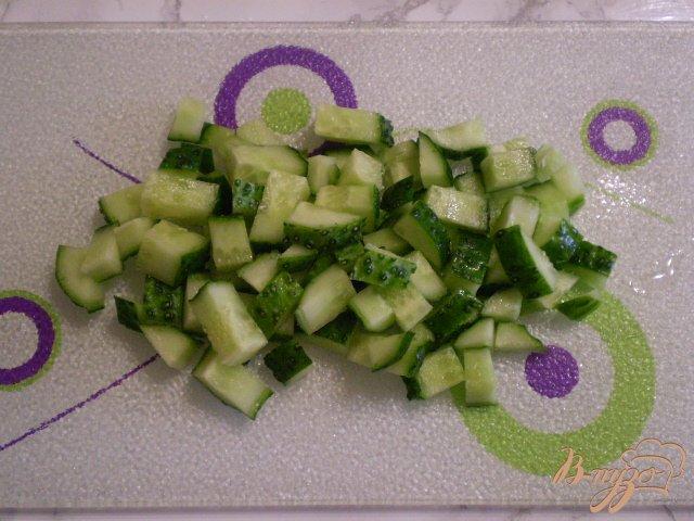 Фото приготовление рецепта: Весенний салат с морковкой шаг №3