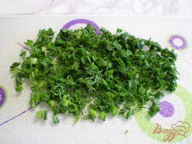 Фото приготовление рецепта: Салат из свежих овощей шаг №5