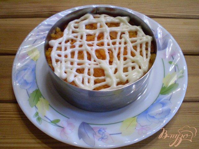 Фото приготовление рецепта: Грибной салат шаг №6
