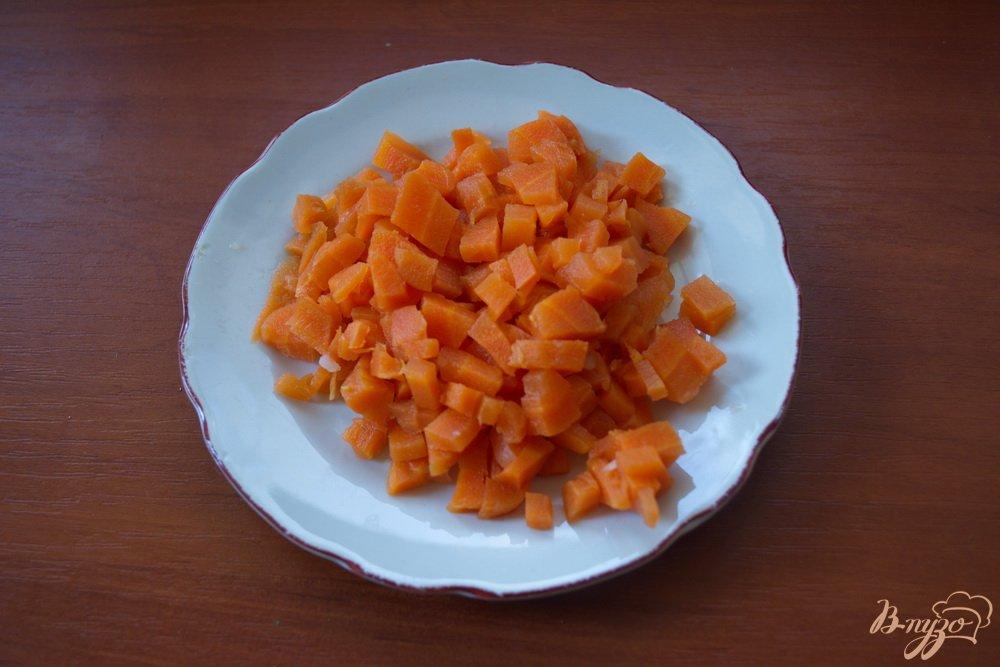 Фото приготовление рецепта: Винегрет с огурцом ( без капусты) шаг №4