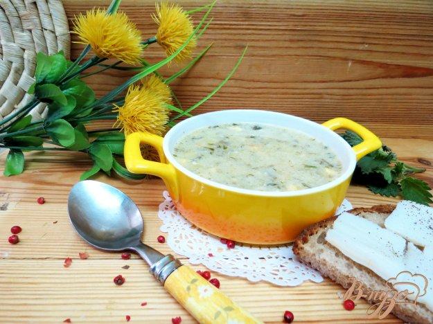 фото рецепта: Суп с крапивой и щавелем