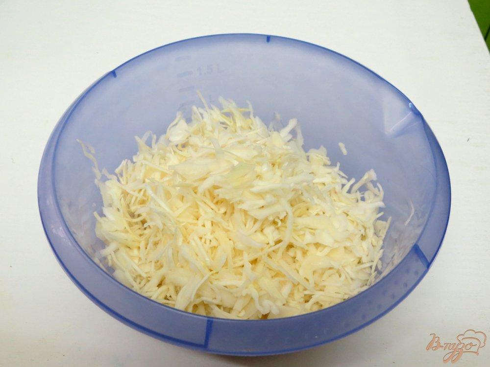 Фото приготовление рецепта: Грибная шаурма из лаваша шаг №8