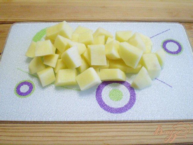 Фото приготовление рецепта: Рагу с фасолью шаг №4