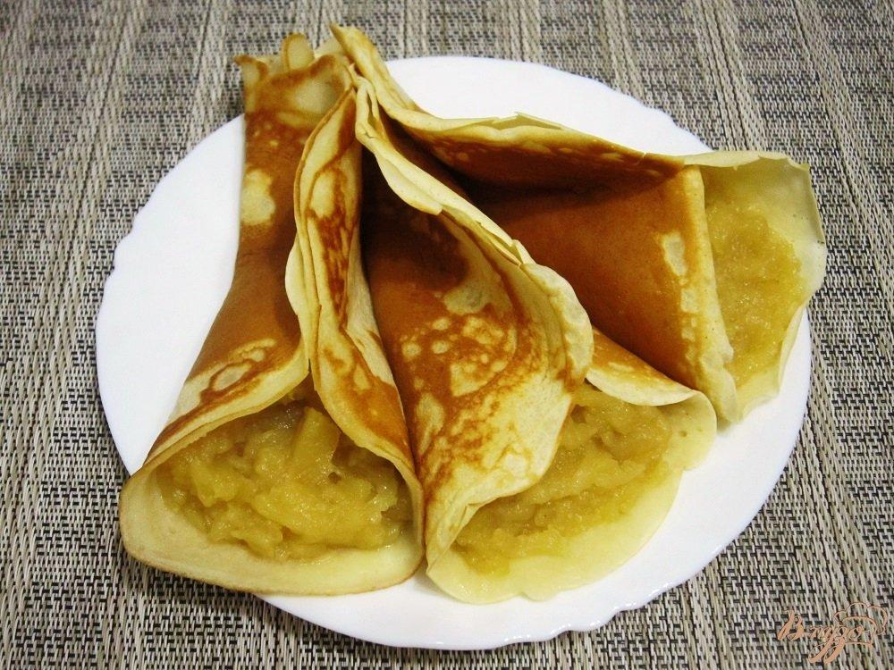 Фото приготовление рецепта: Арабские блинчики шаг №9