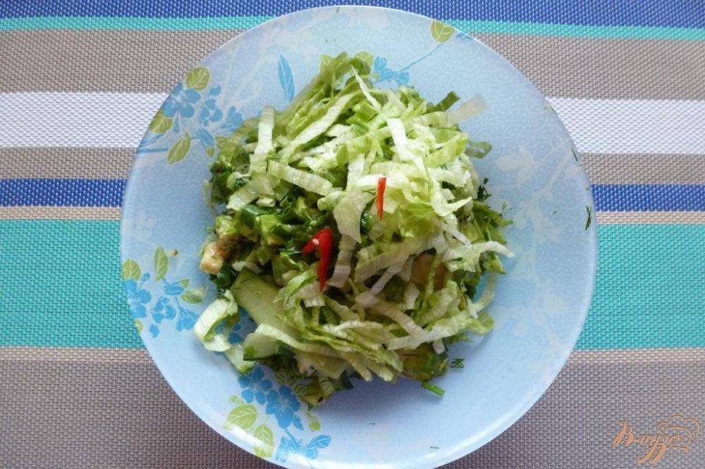 салат айсберг рецепты с маслом