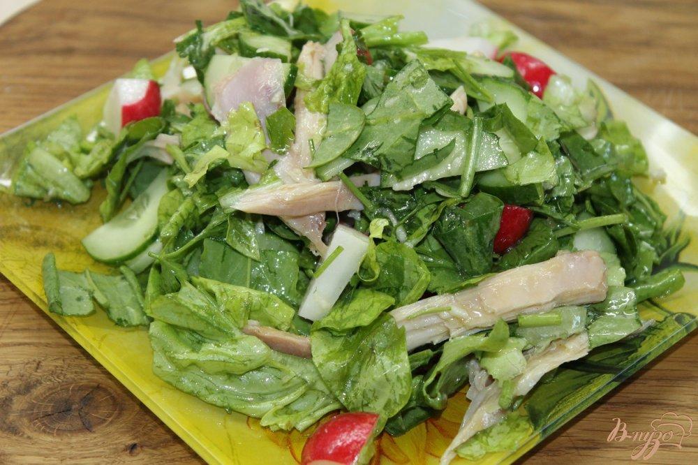 Фото приготовление рецепта: Салат Топлес шаг №6