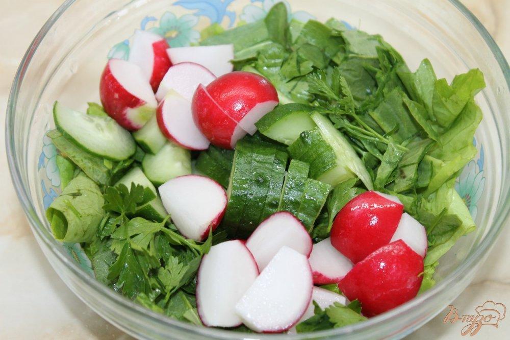 Фото приготовление рецепта: Салат Топлес шаг №3