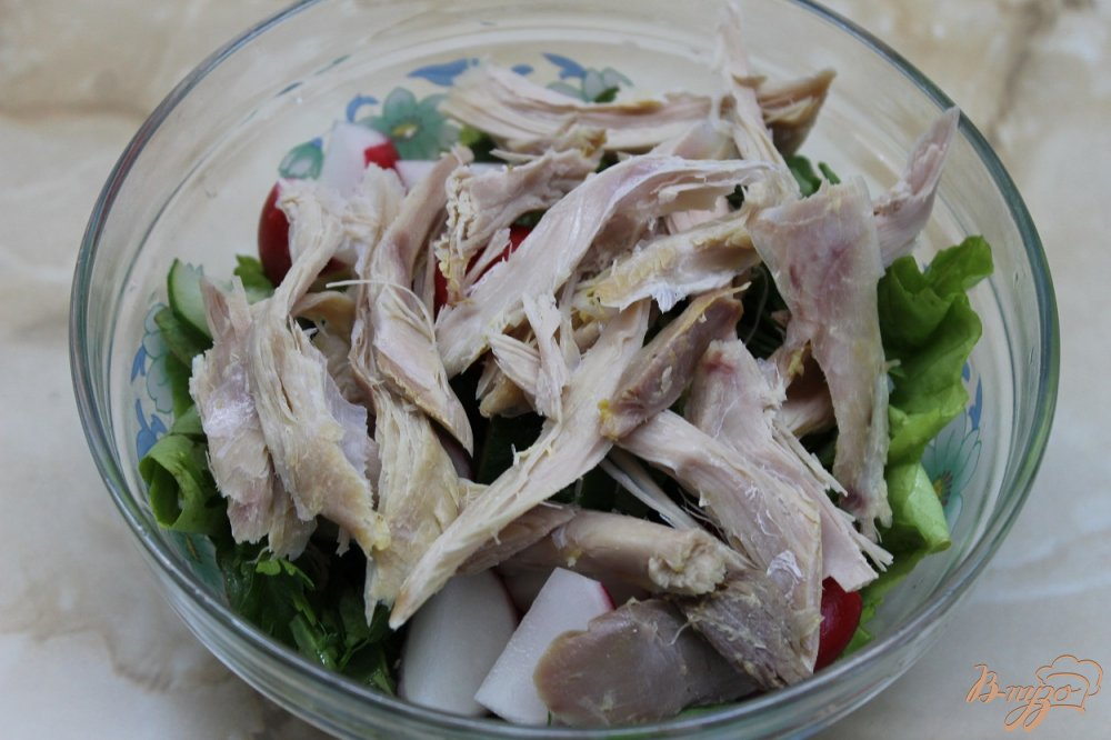 Фото приготовление рецепта: Салат Топлес шаг №4