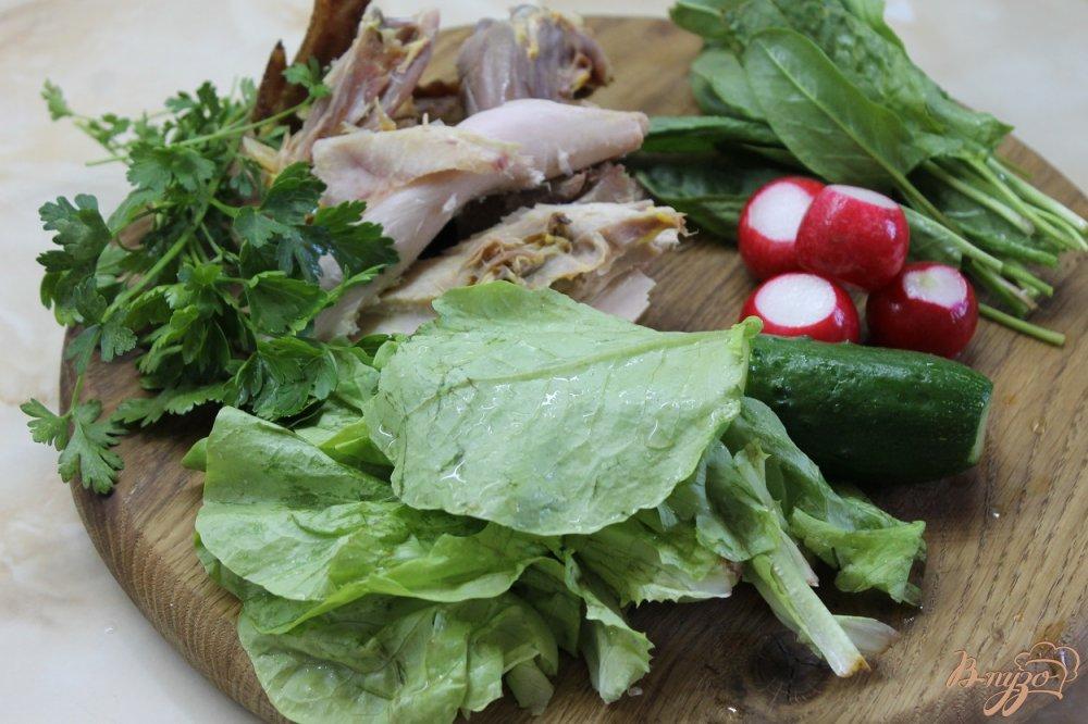 Фото приготовление рецепта: Салат Топлес шаг №1