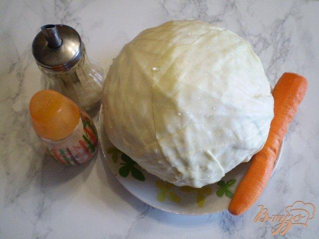Фото приготовление рецепта: Капуста квашенная в банке шаг №1