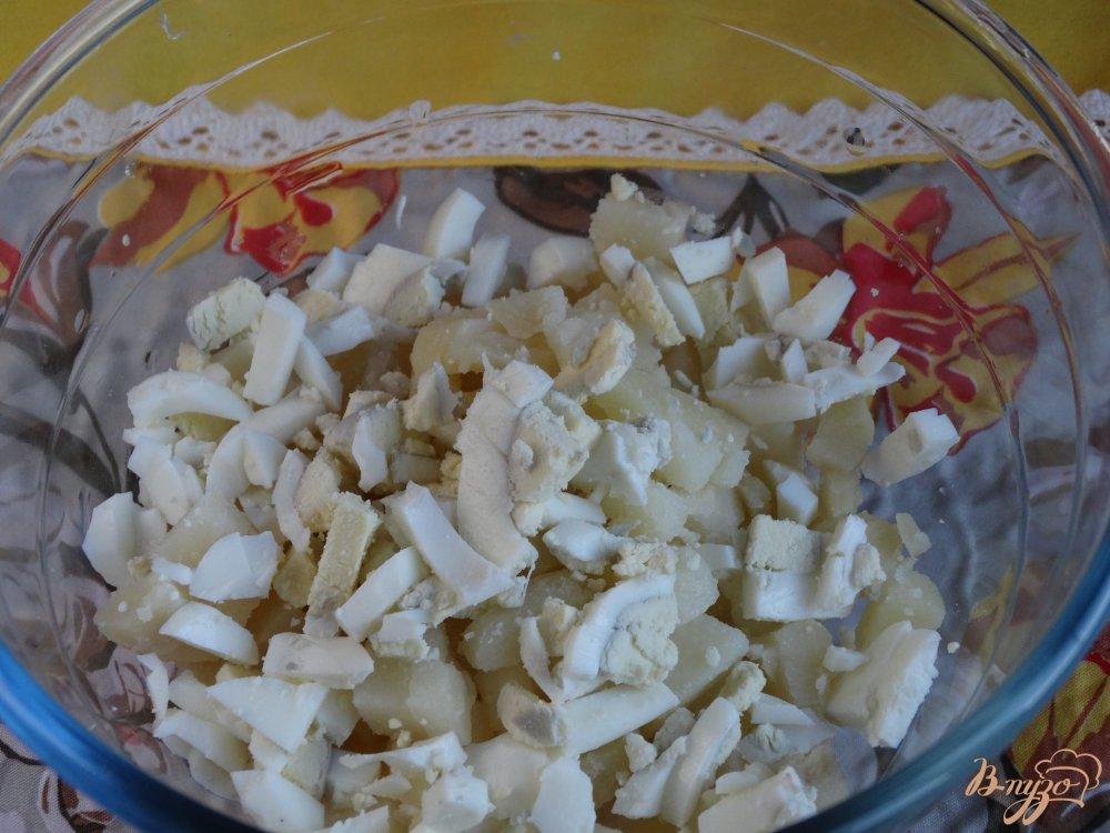 Фото приготовление рецепта: Салат Морской ёж шаг №2